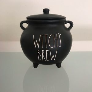Rae Dun Halloween Witches Brew Black Cauldron
